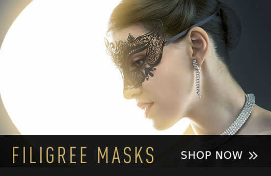 Metal Filigree Masks
