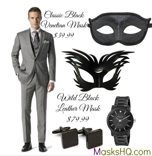 sc 1 st  Masks HQ & What to Wear for a Masquerade Party