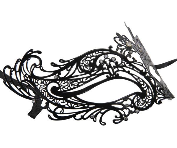 Metal Filigree Masquerade Mask