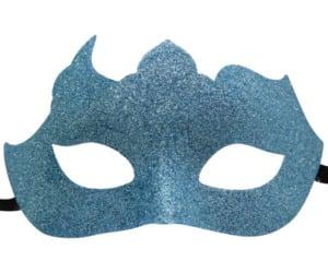 Glitter Mask in Aqua