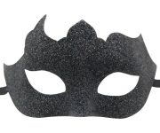 Glitter Mask in Midnight Black
