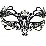 Metal Flourish Filigree Masquerade Mask