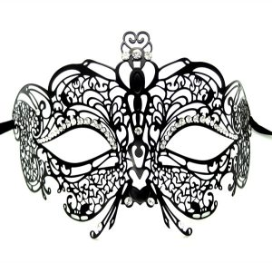High Point Heart Filigree Mask