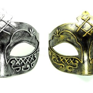His and Her Masks Ideas Gold and Silver