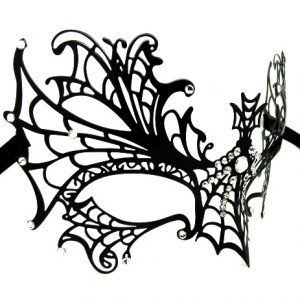 Spider Web Filigree Mask