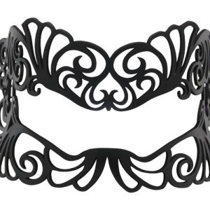 Leather Filigree Mask for Glasses