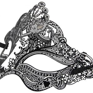 King and Queen Royal Filigree Masquerade Mask