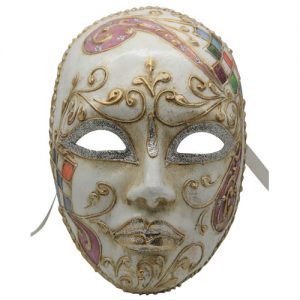 Intricate Authentic Venetian Mask