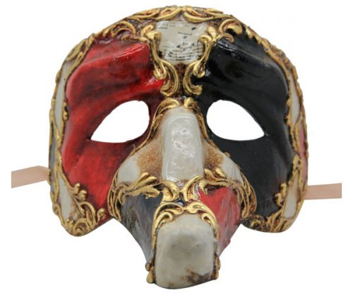 Medium Nose Zanni Authentic Venetian Mask