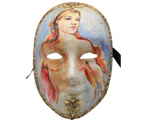Hand Painted Authentic Venetian Mask