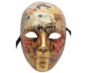Incredible Painted Authentic Venetian Mask