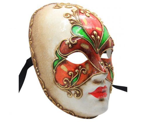 Coloured Authentic Venetian Mask