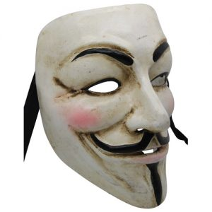 Authentic Guy Fawkes Mask