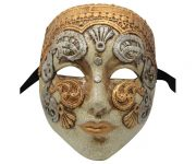Petite Full Face Authentic Venetian Mask