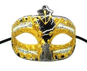 Black Crackle Mask