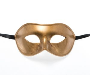 Metallic Gold Eye Mask