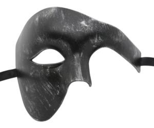 Brushed Black Phantom Mask